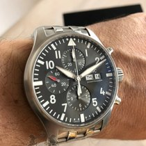 IWC Pilot Spitfire Chronograph  377719 Box & Swiss Papers 2017