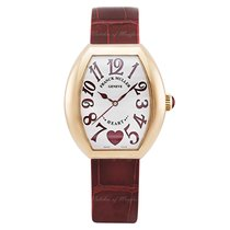 Franck Muller Heart Rose gold 44.7mm Silver