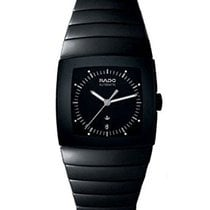 Rado Sintra XL Black Dial Black Ceramic Automatic Men's Watch