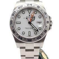 Rolex Oyster Perpetual Explorer II 42mm White dial