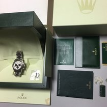 ロレックスデイトナ・中古・正規の化粧箱付属、正規書類付属・40 mm・ホワイトゴールド