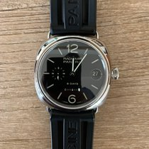 Panerai Radiomir 8 Days Steel 45mm Black Arabic numerals United States of America, North Carolina, Apex
