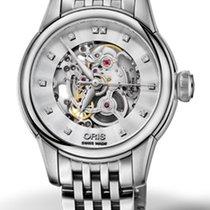 Oris Artelier Skeleton Steel 31mm Transparent No numerals