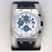 Audemars Piguet Chronograph 42mm Automatic 2008 pre-owned Royal Oak Offshore Chronograph White