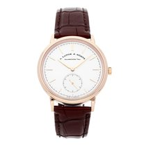 A. Lange & Söhne Saxonia Rose gold 38.5mm Silver No numerals United States of America, Pennsylvania, Bala Cynwyd
