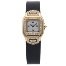 Cartier Panthère Yellow gold 22mm Silver Roman numerals United States of America, Pennsylvania, Bala Cynwyd