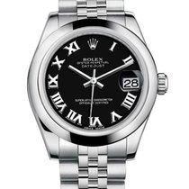 Rolex Lady-Datejust Сталь 31mm Чёрный Римские Россия, Moscow