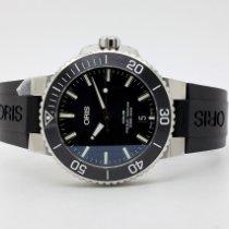 Oris Steel Automatic Black 39,50mm new Aquis Date