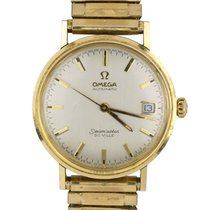 Omega Seamaster DeVille Yellow gold 35mm Silver
