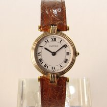 Cartier Trinity Yellow gold 25mm White Roman numerals