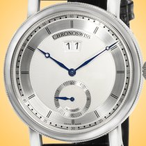 Chronoswiss new Automatic Display Back Small Seconds 40mm Steel Sapphire crystal