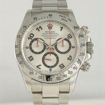 Rolex Daytona Stahl 40mm Silber Arabisch Deutschland, Heilbronn