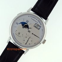 A. Lange & Söhne Grand Lange 1 Platinum 41mm Silver Roman numerals United States of America, Florida, Boca Raton