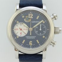 Graham Chronograph Rattrapante and Foudroyante Automatic Ste