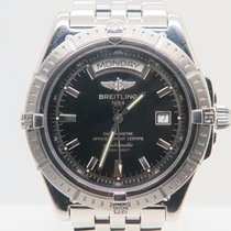 Breitling Headwind Day Date Black Dial Ref. A45355
