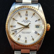 Rolex Oyster Date Stahl/Gold 18K 750 Automatik Mens Chronometer
