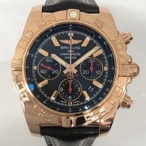 ブライトリング (Breitling) Pink Gold Chronomat 01 Ltd Edition 200...