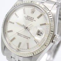 Rolex Datejust Ref.:1601 v. 1970 WG Lünette Service 1/2018