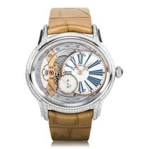 Audemars Piguet Millenary Hand-Wound Lady White Gold Diamond-S...