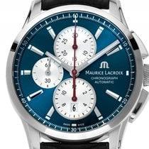 Maurice Lacroix Pontos Chronograph Edelstahl Automatik Armband...