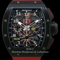 Richard Mille Chronographe 50mm Remontage automatique occasion RM 011 Transparent