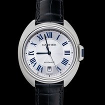 Cartier Clé de Cartier Steel 40mm Silver United States of America, California, San Mateo