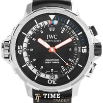 IWC Aquatimer Deep Three Titanium 46mm Black