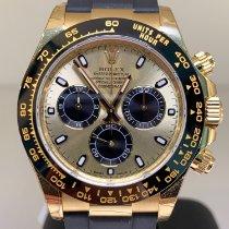 Rolex Gelbgold Automatik Champagnerfarben Keine Ziffern 40mm neu Daytona