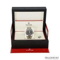 Tudor Glamour Date-Day Steel 39mm No numerals