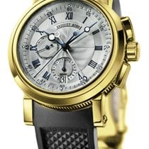 Breguet Marine pre-owned 42mm Yellow gold