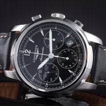 Longines Saint-Imier Steel 41mm Black