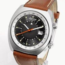Alpina Startimer Pilot Heritage neu 2019 Automatik Uhr mit Original-Box AL-555DGS4H6