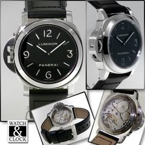 Panerai Luminor Base PAM 00219 Ubrukt Stål 44mm Manuelt