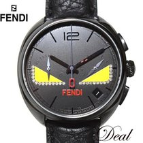 Fendi Steel 40mm Quartz 004-21200G-899 pre-owned