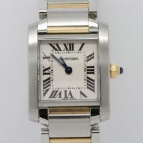Cartier Tank Française Steel 20mm White Roman numerals United Kingdom, London