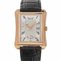 Piaget Emperador Red gold 30mm Silver Arabic numerals United States of America, Maryland, Baltimore, MD