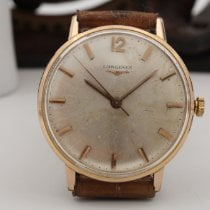 Longines Steel 34mm Manual winding Ref. 7285 4 - Laminato Oro 18K pre-owned