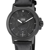 Oris BC3 Steel 42mm Black Arabic numerals United States of America, New Jersey, Somerset