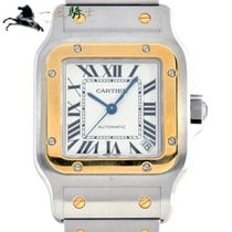 Cartier Santos Galbée Steel 46mm White United States of America, California, Los Angeles