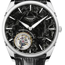Parmigiani Fleurier Tonda White gold 40.2mm Black No numerals United States of America, New Jersey, Princeton