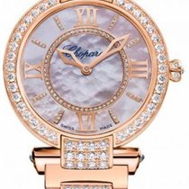 Chopard new Automatic 36mm Rose gold Sapphire Glass