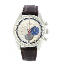 Zenith El Primero 36'000 VpH new 2019 Automatic Chronograph Watch with original box and original papers 03.2040.400/69.C494