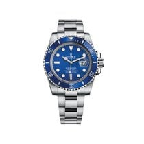 Rolex Submariner Date White gold 40mm Blue No numerals United States of America, Georgia, Alpharetta