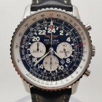Breitling Navitimer Cosmonaute Stål 42mm Svart Arabisk