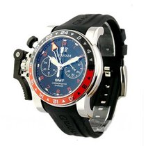 Graham 2OVASGMT.B01A.K10B GMT Oversize Chronofighter - Red and...