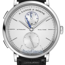 A. Lange & Söhne Saxonia White gold 40mm Silver United States of America, New York, Airmont