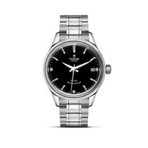 Tudor STYLE Automatic Stainless Steel Black Date M12300.0004