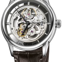Oris Artelier Translucent Skeleton Steel 40.5mm United States of America, New York, Airmont