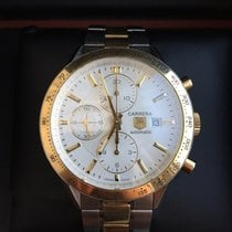 TAG Heuer Carrera Calibre 16 CV2050.BD0789 Gold 18K and Steel