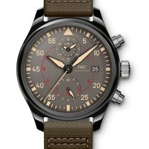 IWC IW389002 Pilots Chronograph Top Gun Miramar in Black...